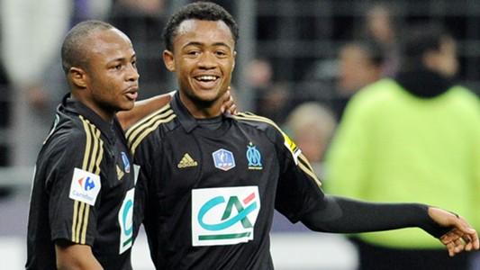Jordan Ayew Andrè Ayew Olympique Marseille