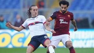 Mohamed Salah Diego Laxalt Roma Genoa