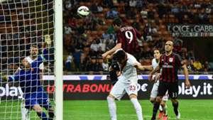 Mattia Destro scores Milan Roma Serie A 09052015
