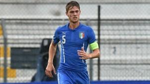 Daniele Rugani Itali U21 Republic of Ireland U21 UEFA U21 Champions 13/10/2015