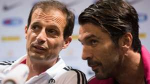 Massimiliano Allegri Gianluigi Buffon Juventus