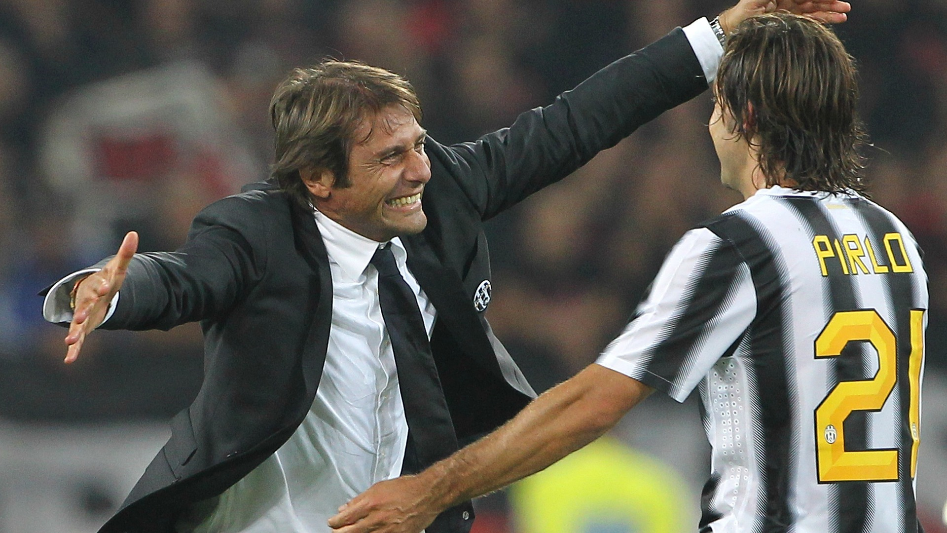 Andrea Pirlo Antonio Conte Juventus