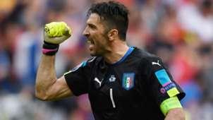 Gigi Buffon Italy Spain Euro 2016