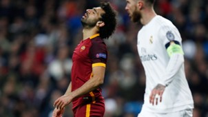 Mohamed Salah Real Madrid Roma Champions League