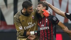 Donnarumma Locatelli Milan Sassuolo Serie A