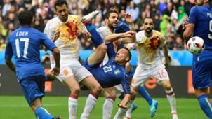 Emanuele Giaccherini Italy Spain Euro 2016