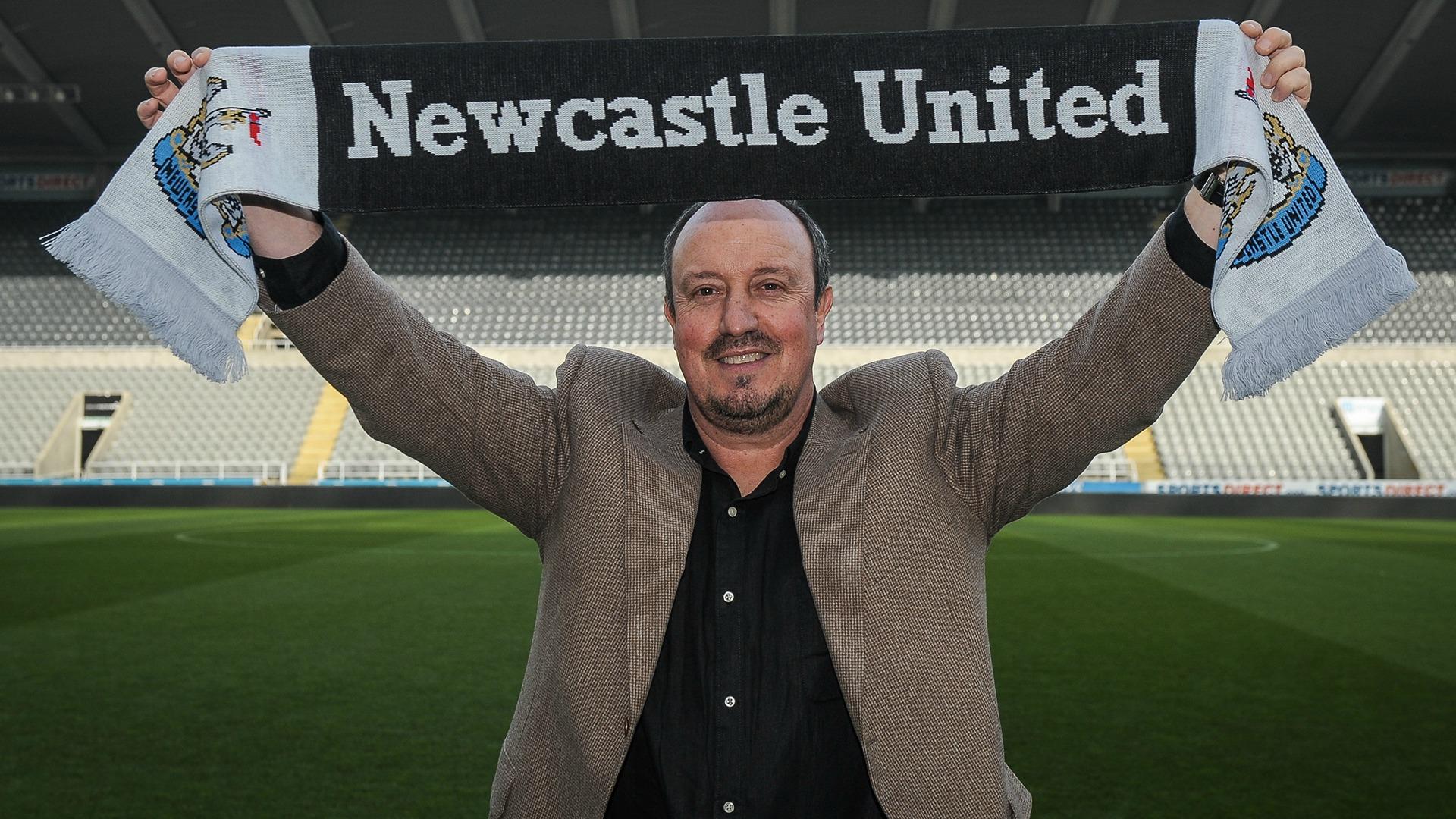 Rafa Benitez Newcastle Premier