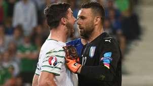 Sirigu Long Italy Ireland Euro 2016