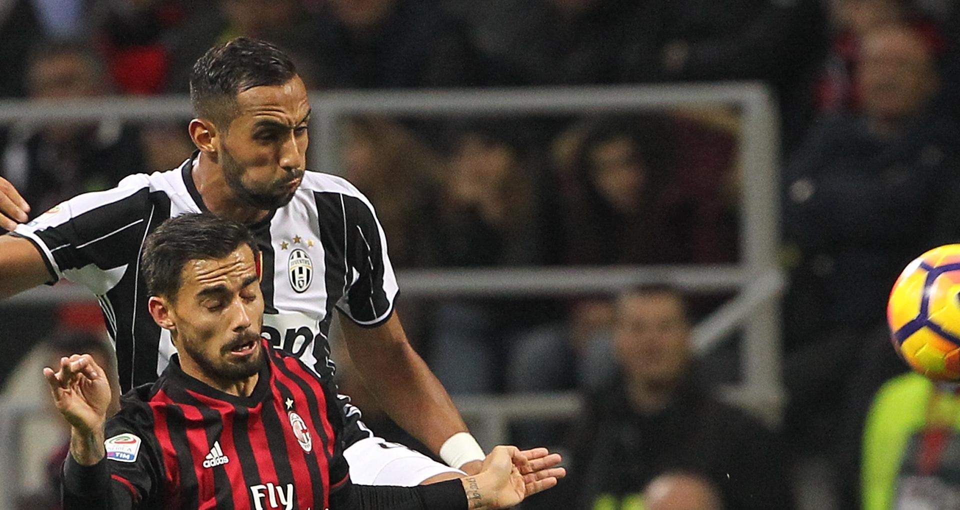 Medhi Benatia Suso Milan Juventus Serie A