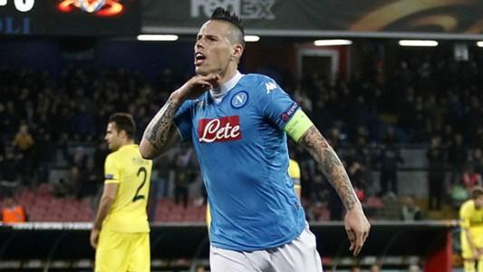 Marek Hamsik Napoli Villarreal Europa League