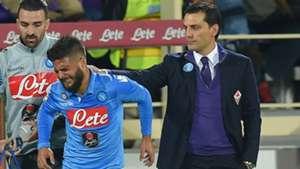 Lorenzo Insigne Vincenzo Montella Fiorentina Napoli Serie A