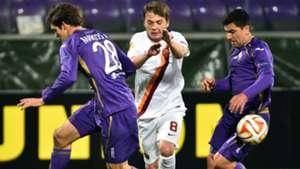 Adem Ljajic Marcos Alonso Fiorentina Roma