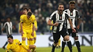 Gonzalo Higuain Juventus Dinamo Zagabria