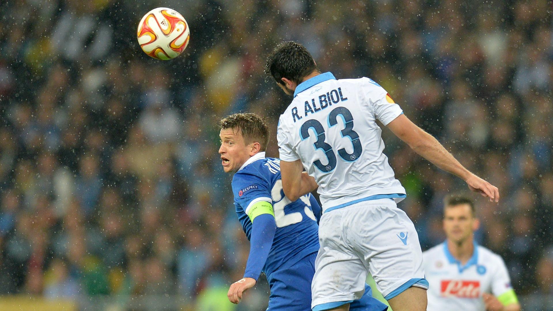 Raul Albiol Dnipro Napoli Europa League