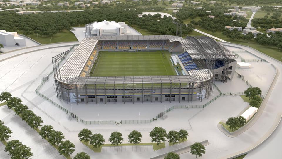 Frosinone, oggi l'inaugurazione del nuovo stadio