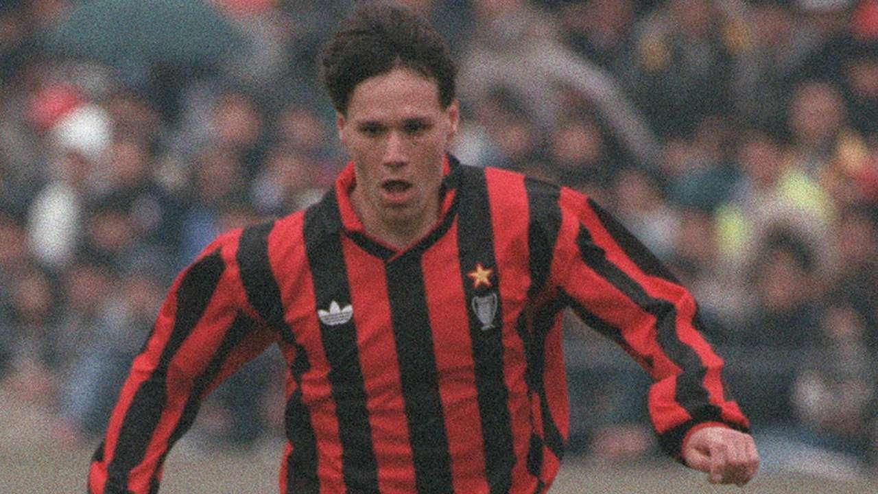 Marco Van Basten Milan 1990