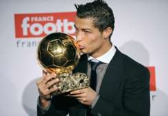 Cristiano Ronaldo Golden Ball 2013