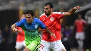 Eder Citadin Martins, Loai Taha, Inter, Hapoel Beer Sheva, Europa League, 09152016