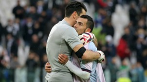 Carlos Tevez Gianluigi Buffon Juventus