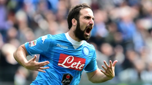 Gonzalo Higuain Udinese Napoli Serie A