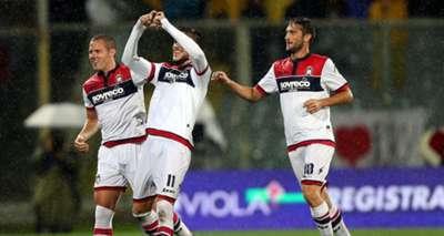 Diego Falcinelli Fiorentina Crotone Serie A