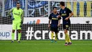 Samir Handanovic Inter Cagliari 17102016