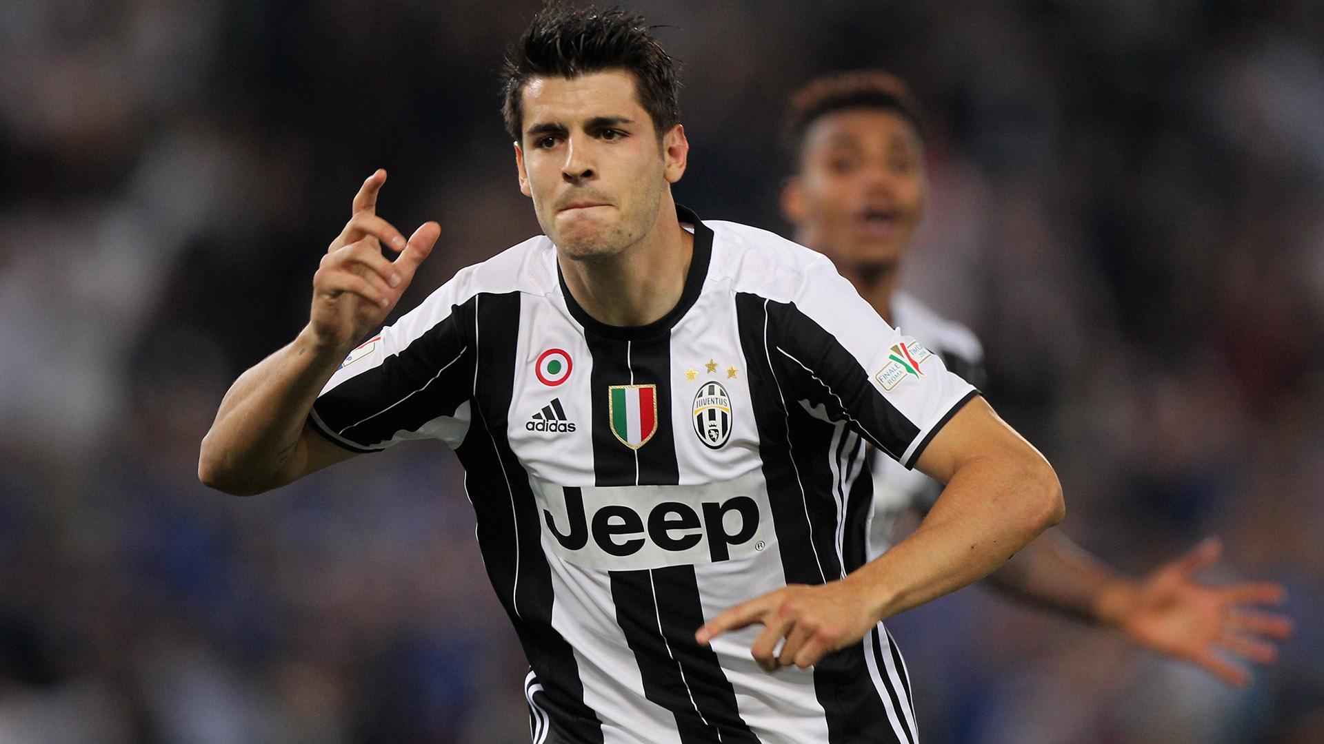 Alvaro Morata Milan Juventus Coppa Italia