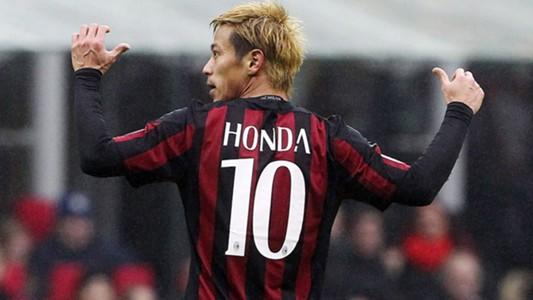 Keisuke Honda Milan Genoa Serie A
