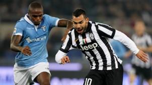 Carlos Tevez Braafheid Lazio Juventus Serie A 22112014