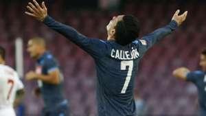 Josè Callejon Napoli Roma Serie A
