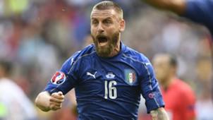 Daniele De Rossi Italy Spain Euro 2016