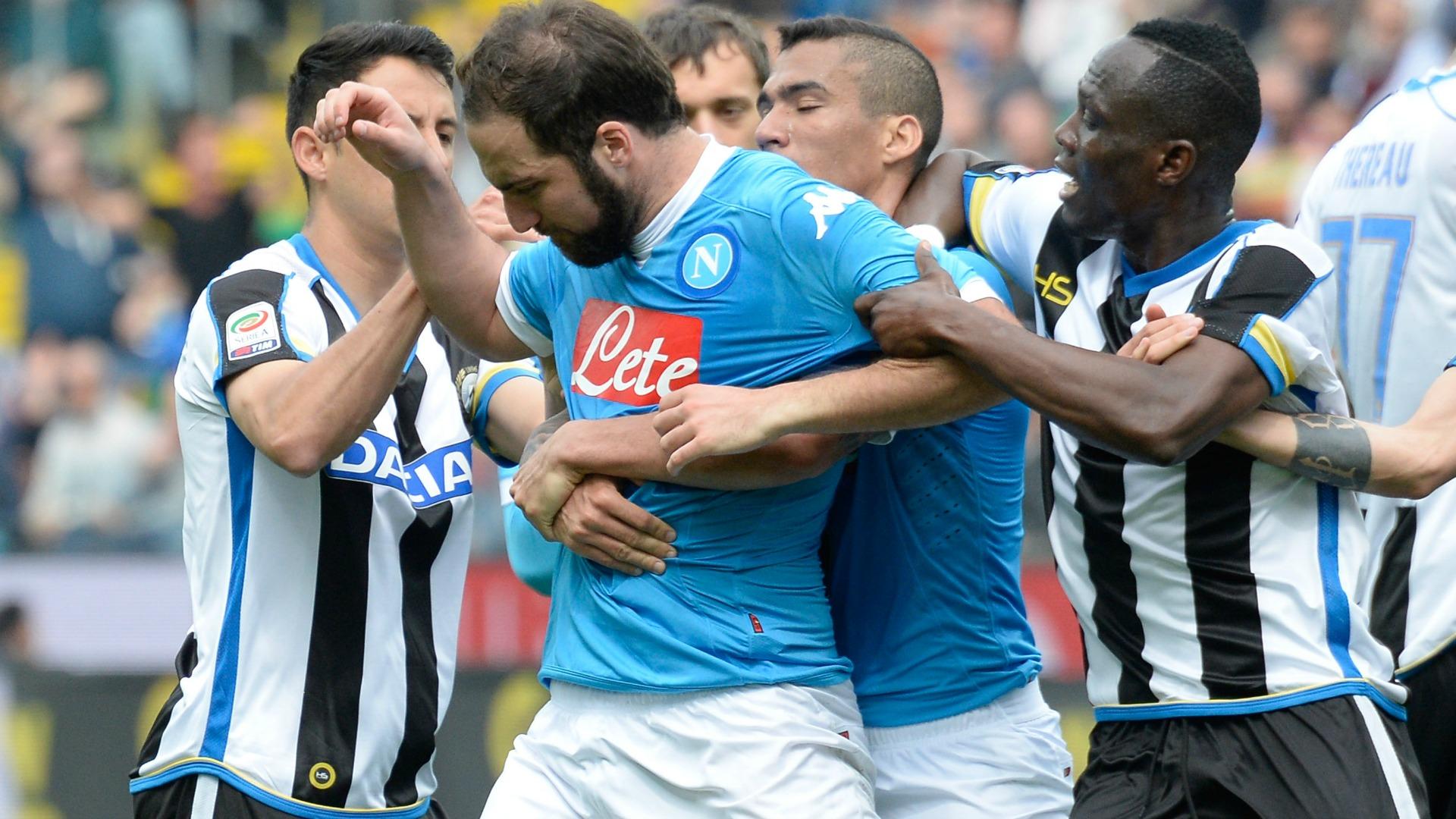 Gonzalo Higuain Udinese Napoli Serie A