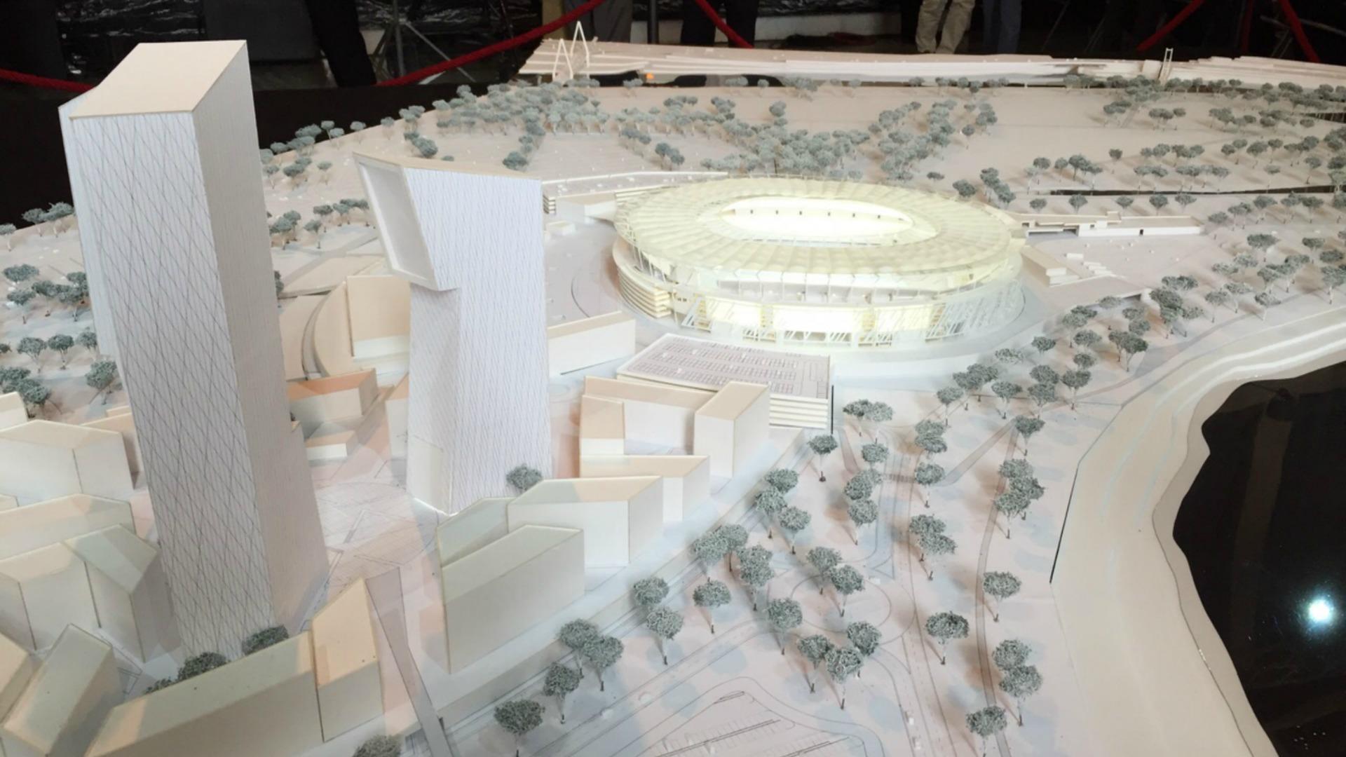 AS Roma stadium rendering