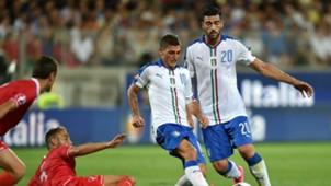 Marco Verratti Graziano Pellè Italia Malta Euro 2016 03092015