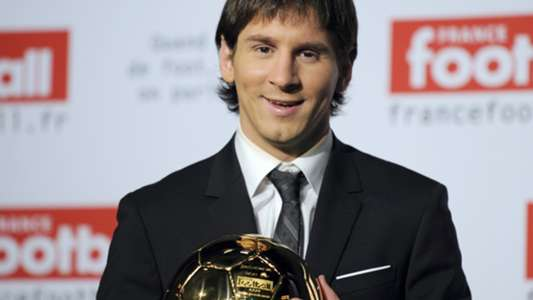 Ballon d'or Messi 2009