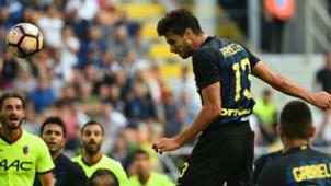 Andrea Ranocchia Inter Serie A 2016/09/25