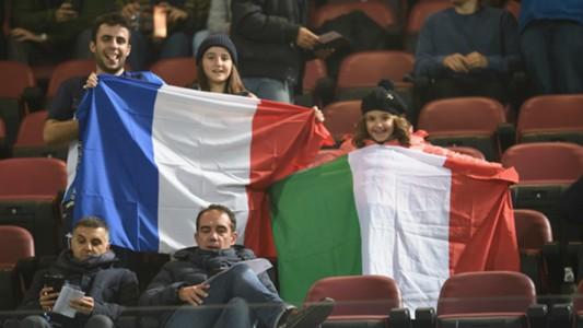 Italy Romania fans 17112015