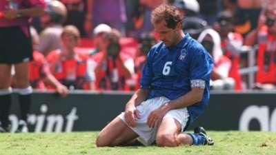 Franco Baresi Brazil Italy World Cup 1994