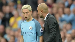 Guardiola Nasri Manchester City