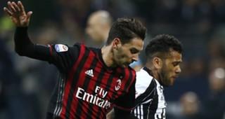 Mattia De Sciglio Dani Alves Milan Juventus
