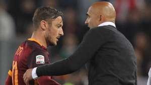 Totti Spalletti Roma Torino Serie A