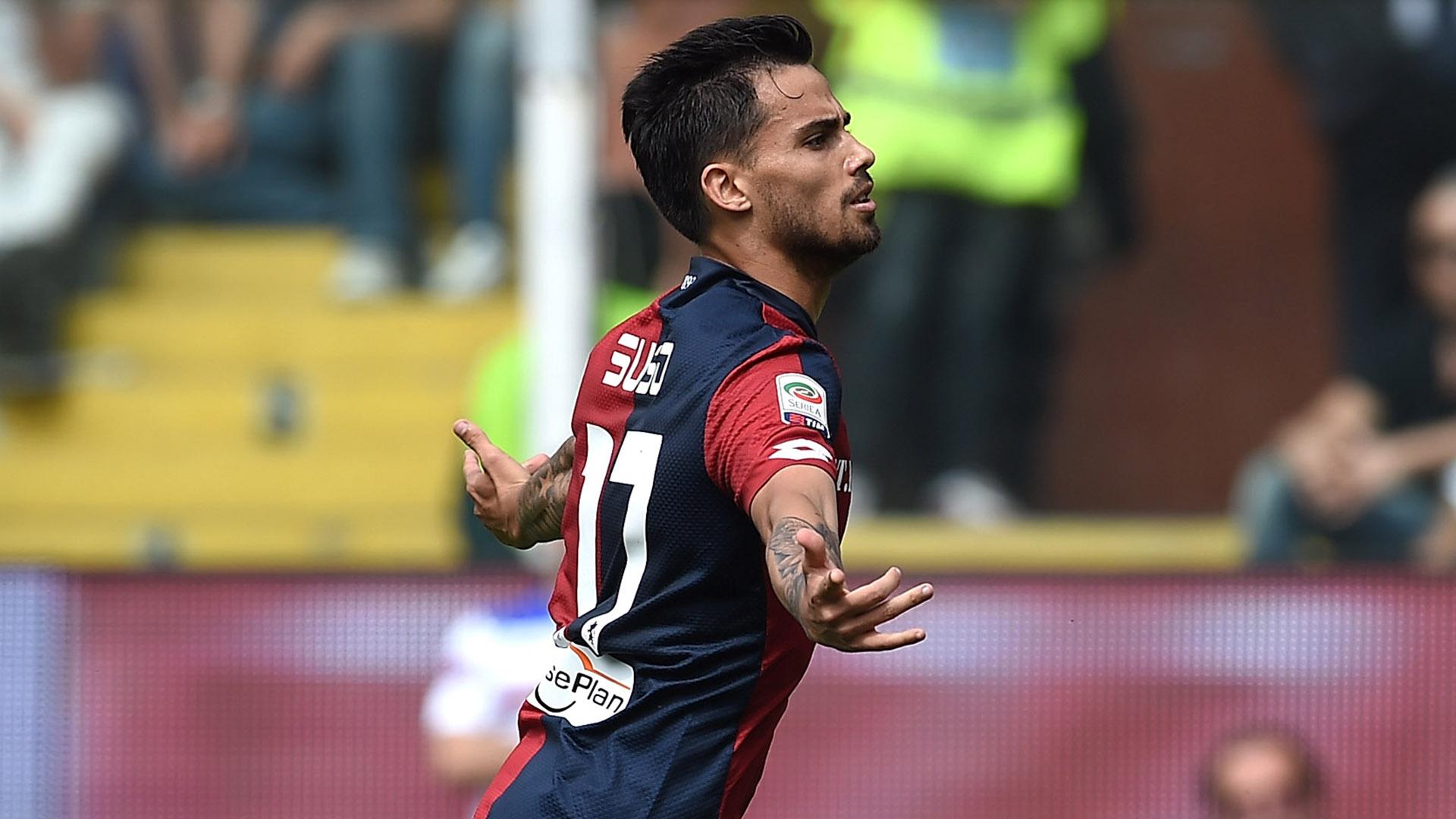 Suso Sampdoria Genoa Serie A