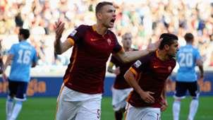 Edin Dzeko Roma Lazio Serie A