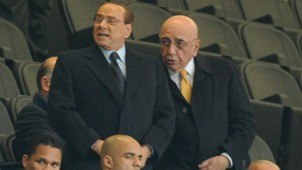 Berlusconi Galliani Milan
