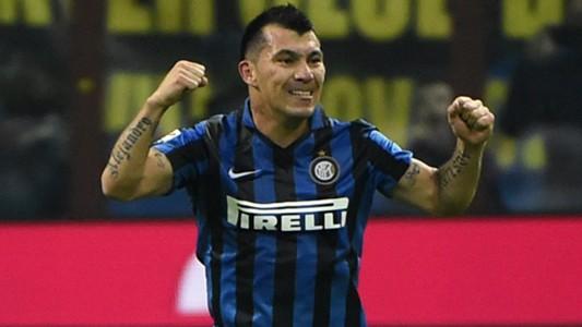 Gary Medel Inter Roma Serie A