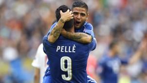 Pellè Insigne Italy Spain Euro 2016