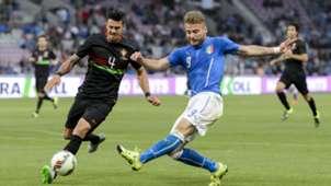 Ciro Immobile Jose Fonte Italy Portugal international friendly 06162015