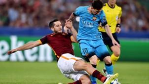 Manolas Messi Roma Barcelona Champions League