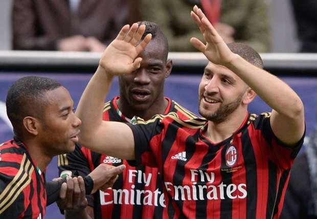 AC Milan 3-0 Livorno: Seedorf's men hammer damage visitors' survival dreams