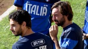 Andrea Pirlo Andrea Ranocchia Italy